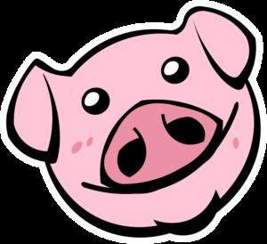 Piggy 694x634 PNG